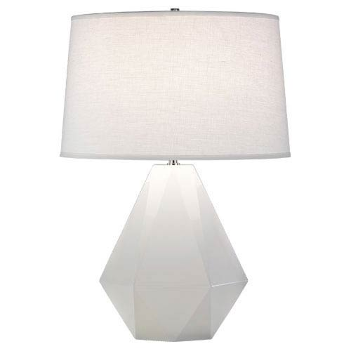 Delta Lily and Polished Nickel One-Light Table Lamp