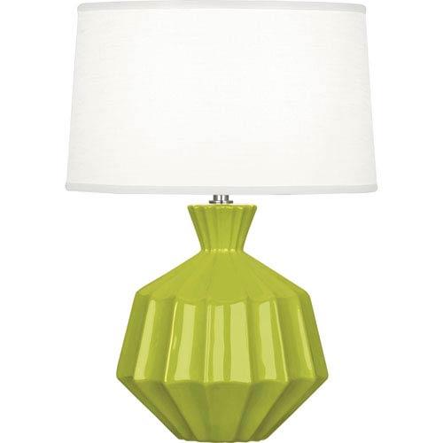 Orion Apple One-Light 17-Inch Ceramic Table Lamp