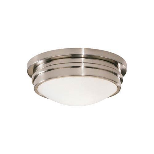 Roderick Antique Silver One-Light Flush Mount