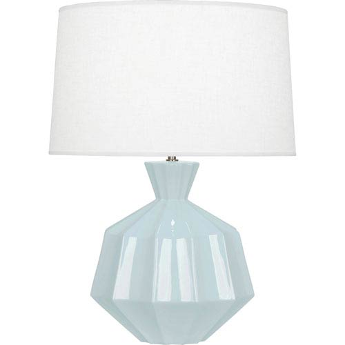 Robert Abbey Orion Baby Blue One-Light 27-Inch Ceramic Table Lamp