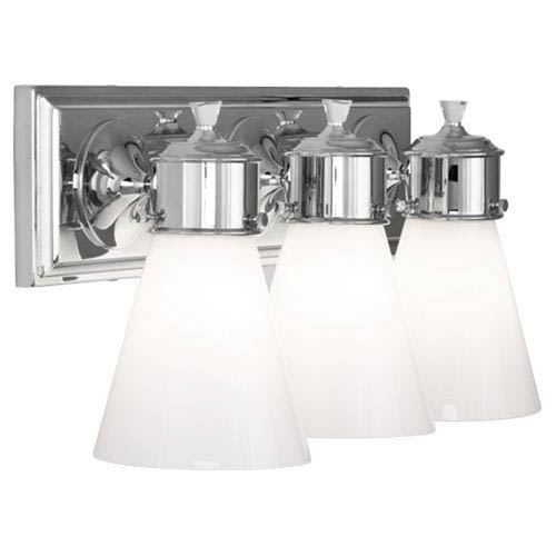 Williamsburg Blaikley Chrome Three-Light Vanity