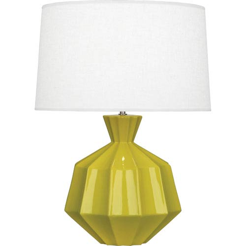 Robert Abbey Orion Citron One-Light 27-Inch Ceramic Table Lamp