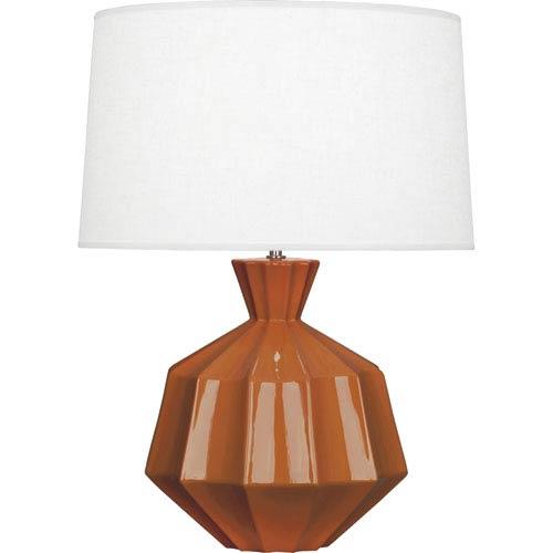 Orion Cinnamon One-Light 27-Inch Ceramic Table Lamp
