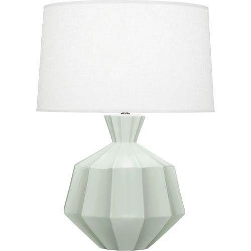 Robert Abbey Orion Matte Celadon One-Light 27-Inch Ceramic Table Lamp