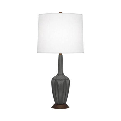 Cecilia Matte Ash 31.5-Inch One-Light Table Lamp