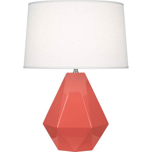 Delta Melon One-Light Table Lamp
