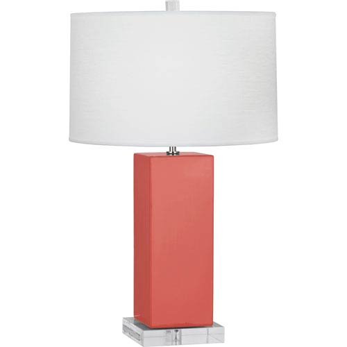Harvey Melon One-Light 33-Inch Ceramic Table Lamp
