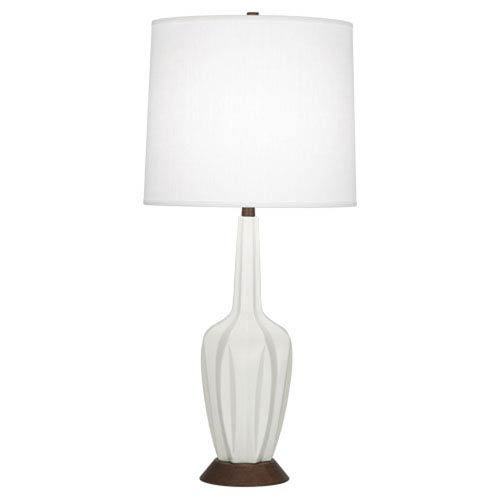 Cecilia Matte Lily 36.5-Inch One-Light Table Lamp