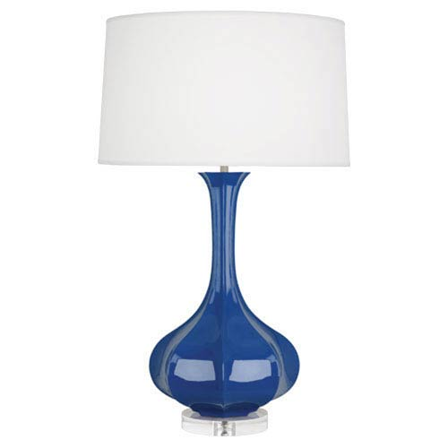 Pike Marine Blue One-Light Table Lamp