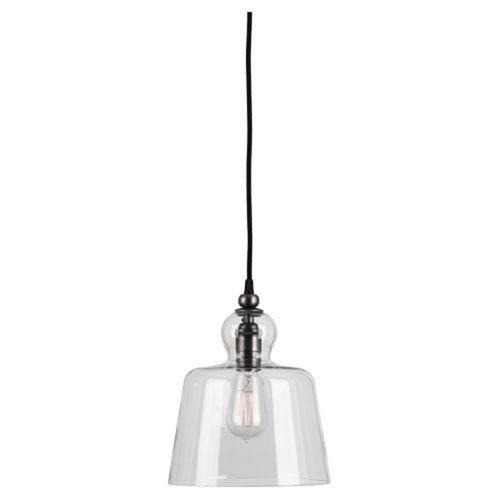 Albert Patina Nickel One-Light Mini Pendant