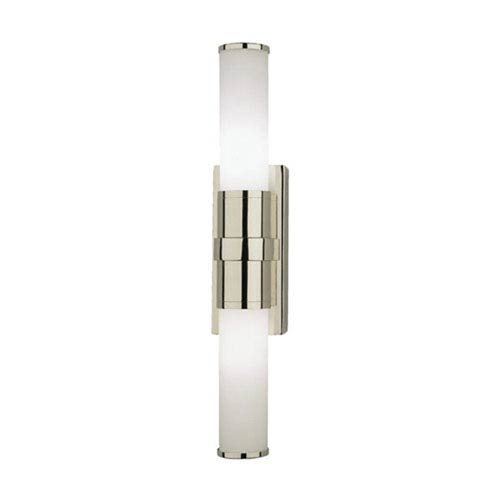 Roderick Polished Nickel Two-Light Fluorescent Bath Sconce