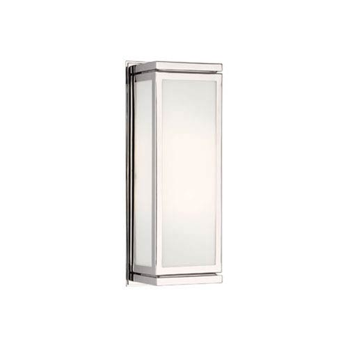 Bradley Polished Nickel Two-Light Wall Lamp