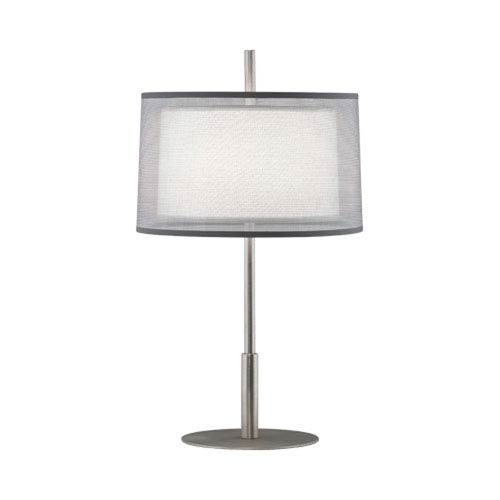 Saturnia Stainless Steel 23-Inch One-Light Table Lamp