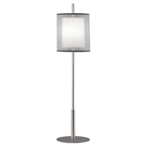 Saturnia Stainless Steel 32.5-Inch One-Light Table Lamp