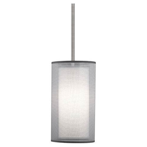 Saturnia Stainless Steel One-Light Mini Pendant