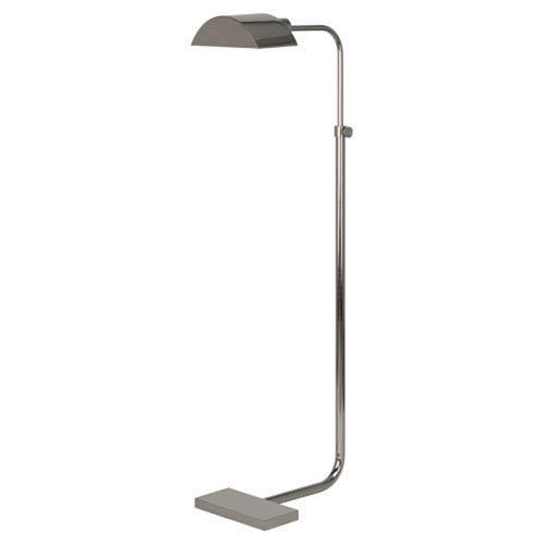 Koleman Polished Nickel One-Light Floor Lamp