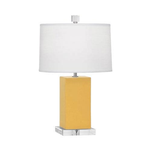 Harvey Sunset and Polished Nickel 19-Inch One-Light Table Lamp