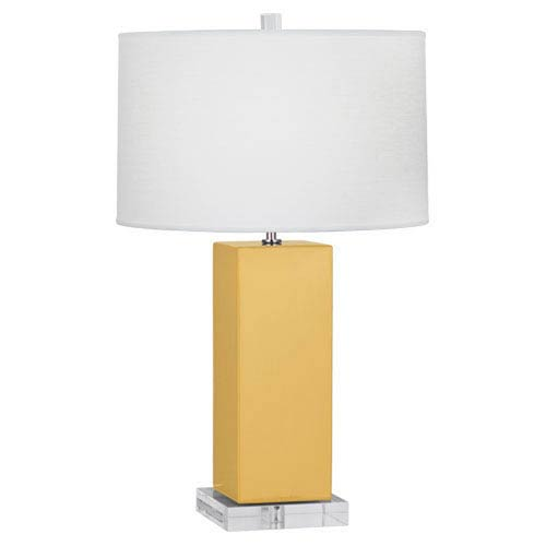 Harvey Sunset and Polished Nickel 33-Inch One-Light Table Lamp