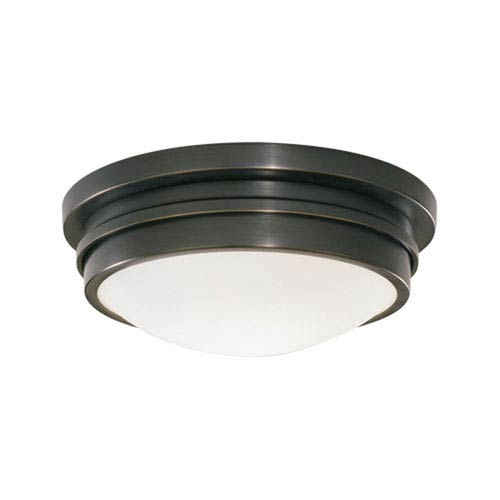 Roderick Deep Patina Bronze One-Light Flush Mount