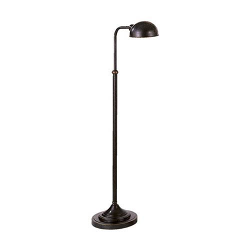 Kinetic Bronze One-Light Floor Lamp
