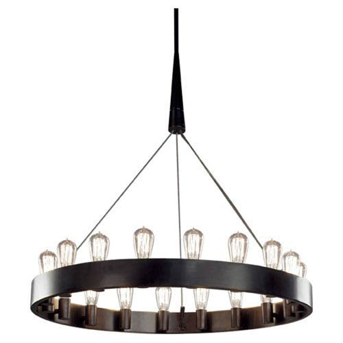 Rico Espinet Candelaria Bronze 18-Light Chandelier