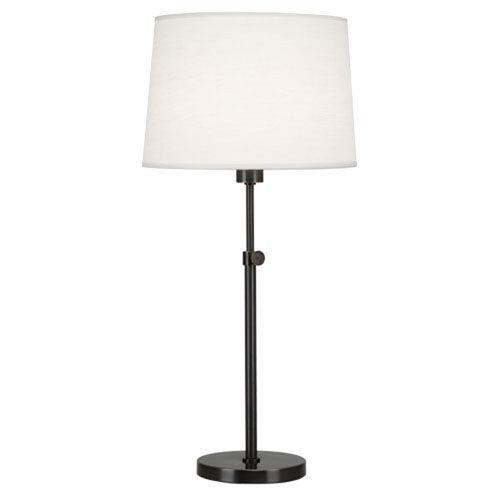 Koleman Deep Patina Bronze One-Light Table Lamp