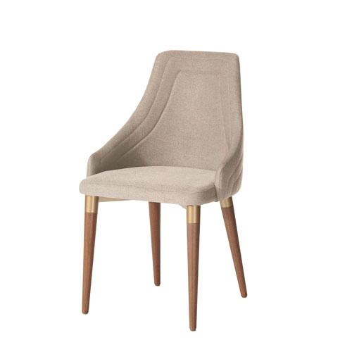 Utopia Dark Beige Dining Chair