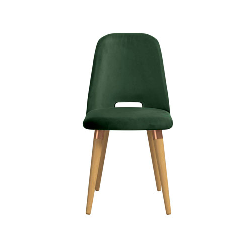 Selina Green Velvet Accent Chair