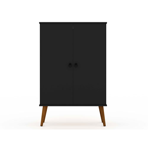 Tribeca Black Accent Storage Cabinet