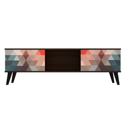 Doyers Red and Blue TV Stand