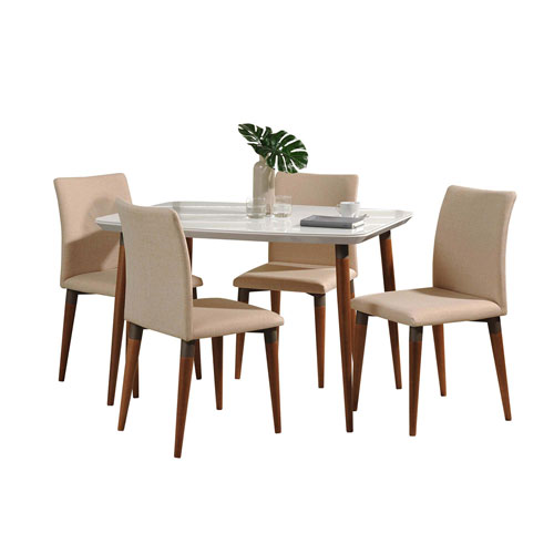 Charles Gloss and Pro Touch Five-Piece Dining Sets