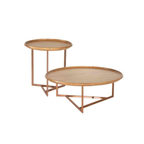 Knickerbocker Brown Coffee Table, Set of 2