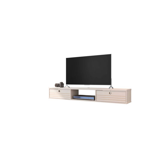 Liberty Off White Floating Entertainment Center