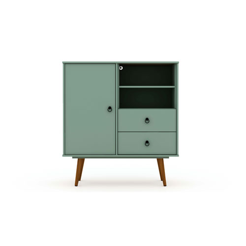 Tribeca Green Two-Drawers Dresser Sideboard