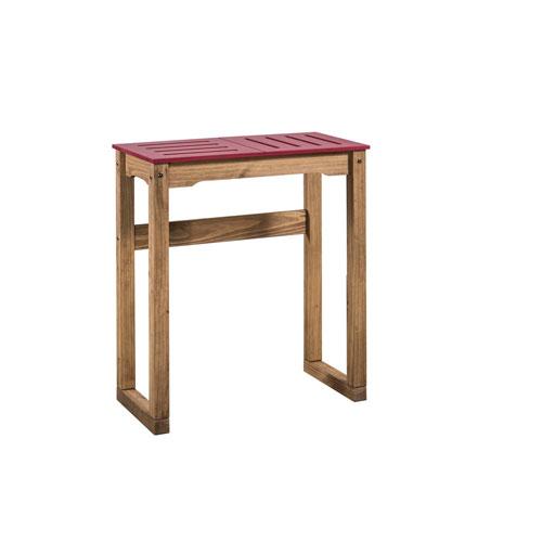 Stillwell Red Bar Table