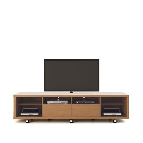 Cabrini TV Stand 2.2 in Maple Cream and Off White