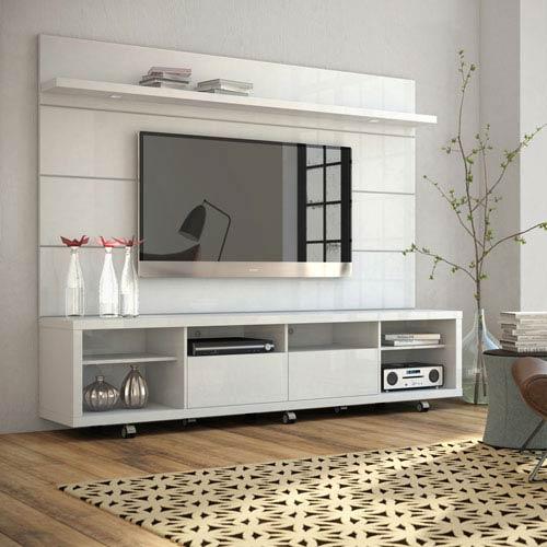 Cabrini White Gloss TV Stand