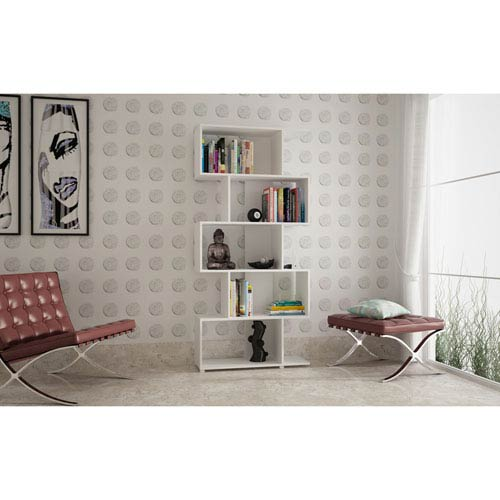 Petrolina White Z-Shelf
