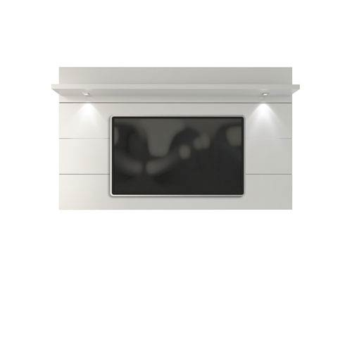 Manhattan Comfort Cabrini White Gloss TV Panel Only