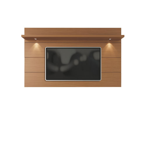 Cabrini Floating Wall TV Panel 2.2 in Maple Cream