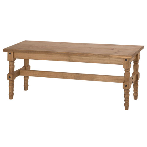 Jay 47-Inch Solid Wood Dining Bench in Nature