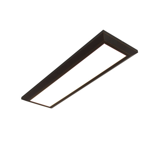 AFX Atlas Oil Rubbed Bronze 50-Inch LED Linear Troffer