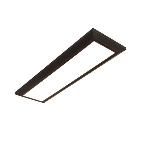 Atlas Oil Rubbed Bronze 27-Inch LED Linear Troffer