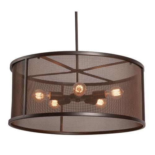 Austin Bronze Five-Light LED Pendant