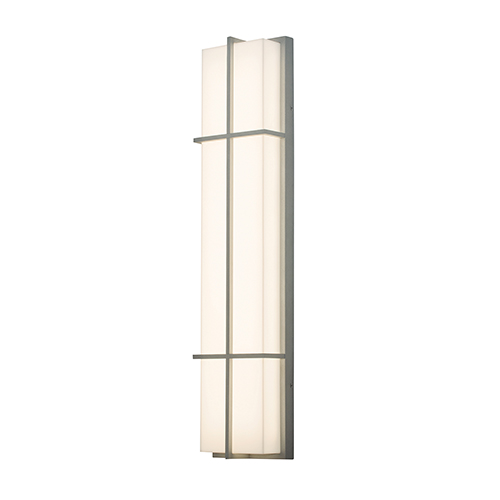 Avenue Textured Grey Four-Inch LED Sconce