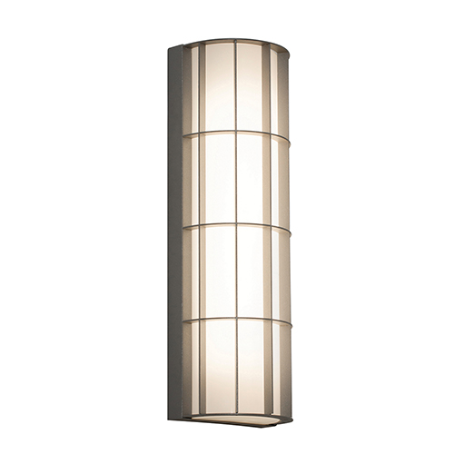 Broadway Textured Grey Five-Inch LED Sconce