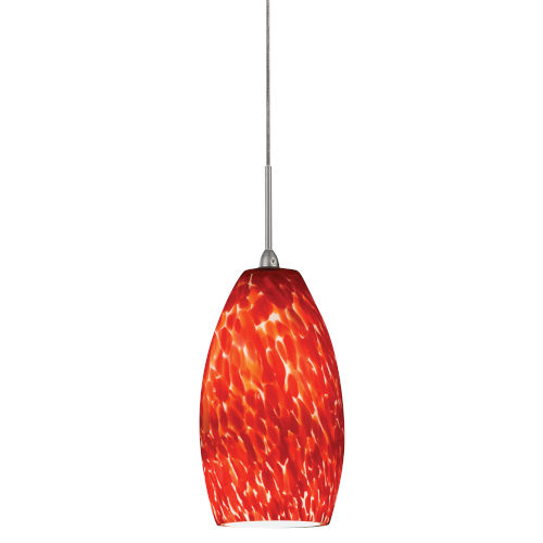 Bella Red 3000K 120-277V LED Mini Pendant