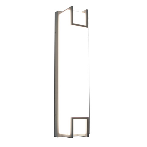 AFX Beaumont Textured Grey 21-Inch 120/277V LED Outdoor Wall Sconce
