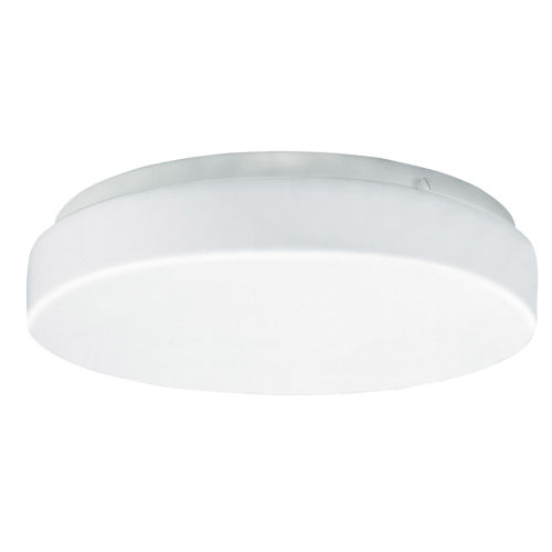Cirrus White 14-Inch Two-Light Flush Mount