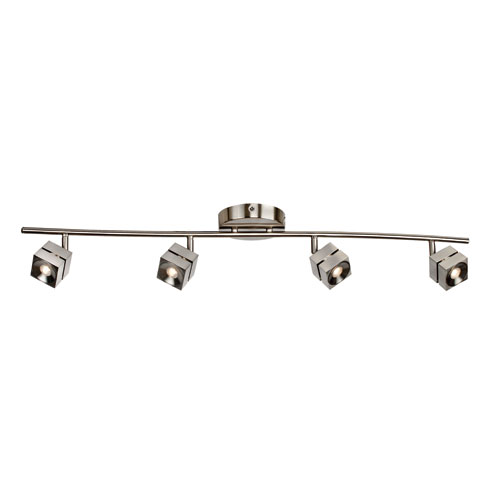 AFX Cantrell Satin Nickel LED Energy Star Track Light